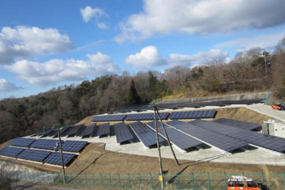 兵庫県三木吉川町 太陽光発電所 500kw